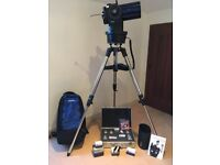 Meade ETX 125 telescope with autostar and all the quality accessories required for stargazing.