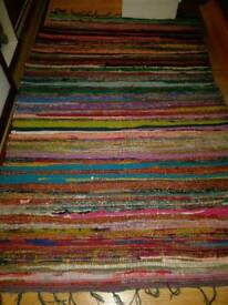 Indian Chindi Throw Rug (1M x 1.5M)