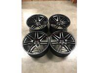 22″ Inch STROM STR3 BMW X5 X6 X7 Alloy Wheels 5x120 74.1 E70 E71 F15 F16 E53