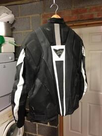 Leather bike kacket