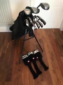 For Sale Wilson Gents fat shaft smart core graphite Golf Clubs and bag full set