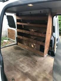 VW caddy maxi shelves
