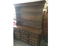 Beautiful Younger Toledo Large 6ft Welsh Dresser Display Cabinet Sideboard