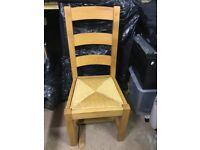 Solid High Backed Chair