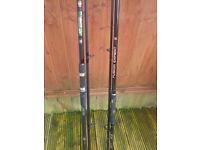 2x carp rods