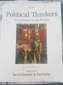 Political Thinkers: From Socrates to the Present (2nd Ed) - David Boucher and Paul Kelly