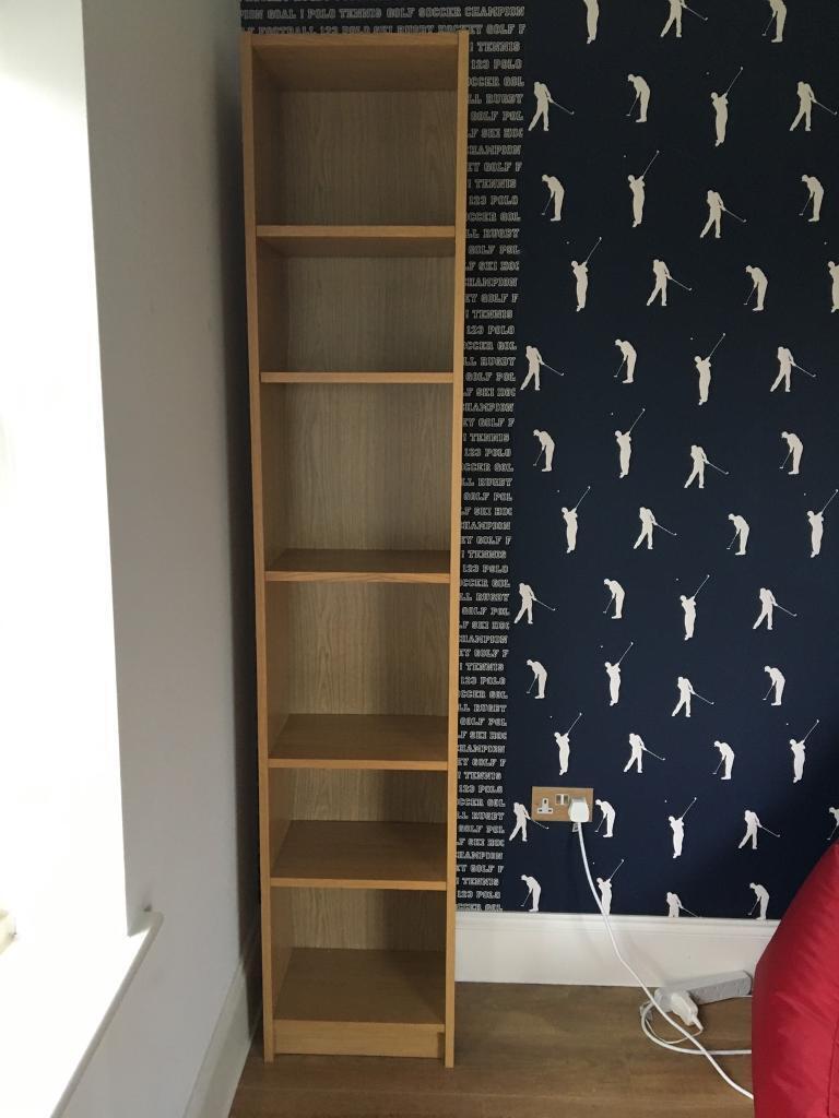 IKEA tall bookcase.