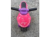 Child ride on motorcycle balance bike toddler