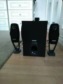 Speakers Logitech 2.1