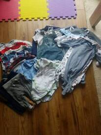 Baby Boy clothes bundle 3-6m