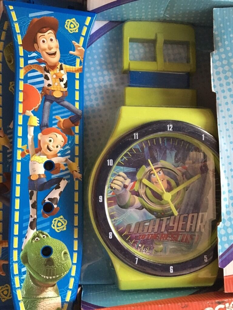 Toy story watch wall clock