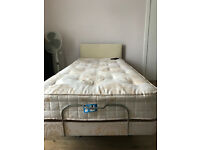Craftmatic Adjustable Orthopaedic Single Bed with Mattress and Headboard