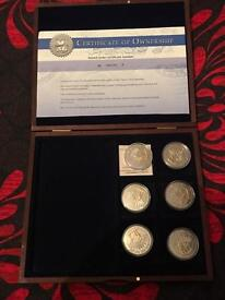 Battle of the Somme coin set