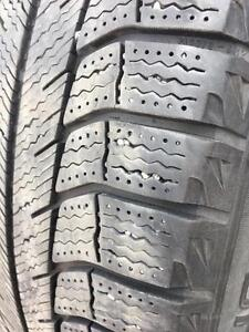 225/60/18 Michelin Xice 6/32 + rims 5 trous