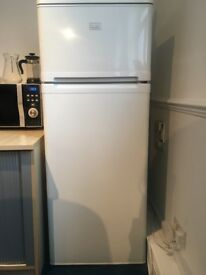 Zanussi Fridge Freezer white finish. Second hand - very good working condition sold for £75 RRP £199