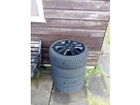 """16"""" Vauxhall wheels and tyres"""