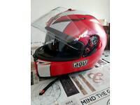 Agv motorbike helmet