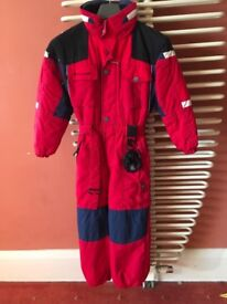 Boys ski suit - size 6X - make Couloir