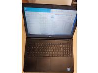 Dell laptop VGC 15.6 inch 250GB Samsung SSD intel dual core 4th. gen 4GB, backlit keyboard