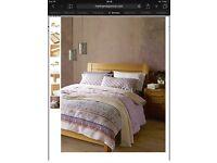 Kingsize M&S Sonoma bed frame - solid wood