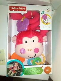 BRAND NEW FISHERPRICE MONKEY