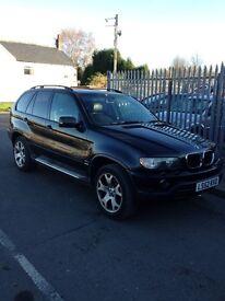 2002 BMW X5 spares or repair