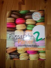 Facon de parler 2- French course book
