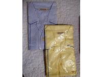 2 pairs men's brand new large pyjamas