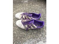Addidas football boots size 8 (used )