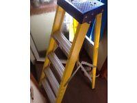 clow step ladders 5 tread