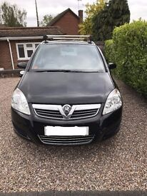 2009 Vauxhall Zafira Active 1.8 Black MPV for Sale. £2750 1 Owner from New