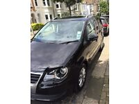 Volkswagen Touran 2.0 TDI Match; sole owner, well maintained, very good condition, only 12,000 miles