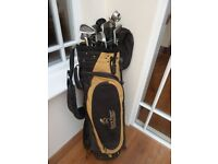 Gary Player Yellow and Black golf bag