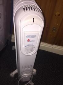Delonghi vento oiled filled heater £65