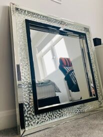 Wall large square Mirror