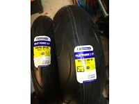 Motorcycle Tyres Brand New Michelin Pilot 2CT