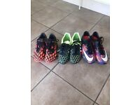 Boys Football Boots Sizes 4 + 5 + 6
