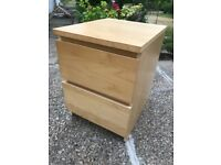 Pair of 2 drawer chests