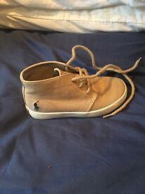 Ralph Lauren canvas boots