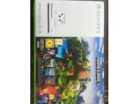 Brand new sealed Xbox one s 500gb with minecraft