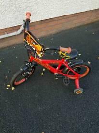 Boys red 14 inch bike