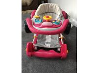 Mothercare car rocker/walker