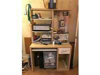 Used IKEA office desk in excellent condition.
