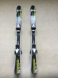 Snow Blades 116cm with Superlight Bindings