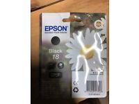 Epson Black 18 Ink