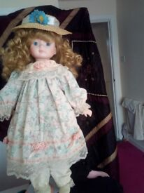 2 china dollies perfect condition no breaks or scratches £30 ONO