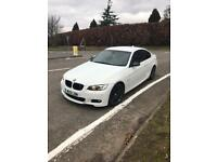 BMW 3 Series M Sport 320D Coupe White AUTO,SATNAV, PARKING SENSORS, CREAM LEATHERS, TINTED WINDOWS
