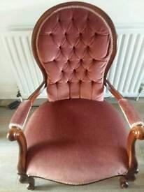 Vintage spoon chair