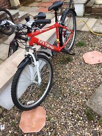 As new gold rush bike