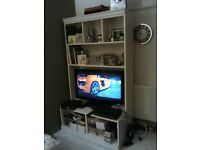 Television unit with shelving